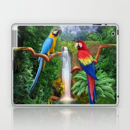 Macaw Tropical Parrots Laptop & iPad Skin