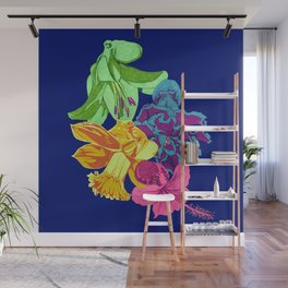 Octopus Flower Garden Wall Mural