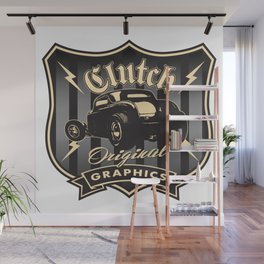 Coupe Shield Wall Mural