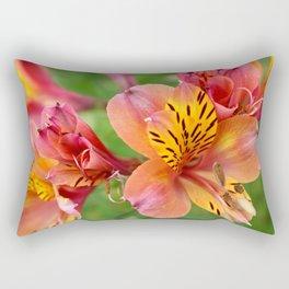 Alstroemeria Rectangular Pillow