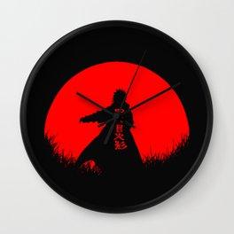 Red Moon Minato Wall Clock
