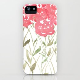 A Bunch Of Red Roses iPhone Case