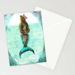 Mer-Bear - West Coast wonders rarely seen Stationery Cards