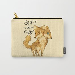 Foxly Fox by Devon Baker Carry-All Pouch