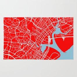 SINGAPORE CITY MAP Rug
