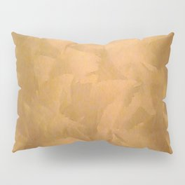 Brushed Copper Metallic - Beautiful - Rustic Glam - Fancy Faux Finishes - Metallic Paint Pillow Sham