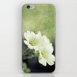pretty in green. iPhone Skin