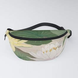 Water Lily Pond  Fanny Pack