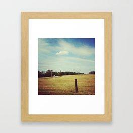 Field. Framed Art Print