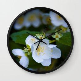Wedding jasmine Wall Clock
