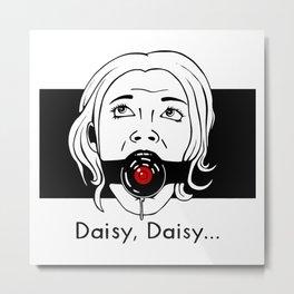 Daisy, Daisy... Metal Print