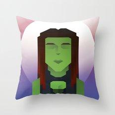 Guardians of the Galaxy - Gamora Throw Pillow