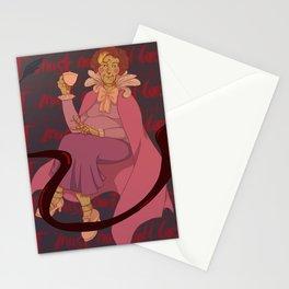 Professor umbridge mannequin - original art print Stationery Cards