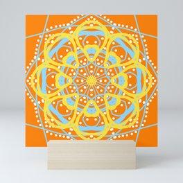 Mandala Summer Sun Mini Art Print