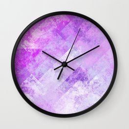 Simply Abstract (Soft Pastel) Wall Clock