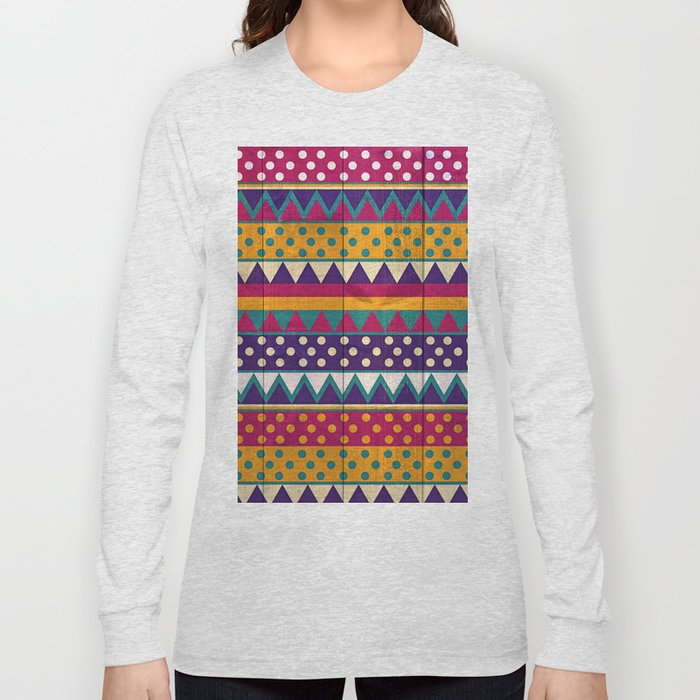 Mexican Pattern Long Sleeve T-shirt