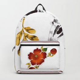 Aves and flowers Backpack