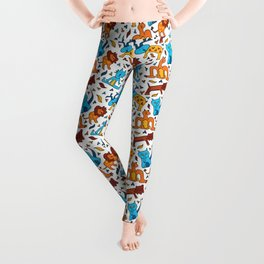 Crazy Animals Leggings