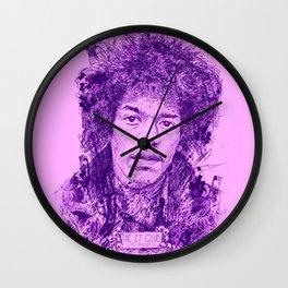 27 Club - Hendrix Wall Clock