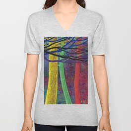 My favorite trees Unisex V-Neck