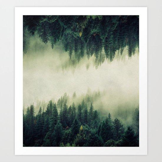 Ascending Into Light Art Print