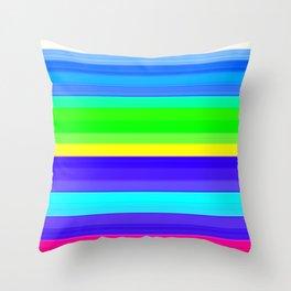 Re-Created Spectrum XXI by Robert S. Lee  Throw Pillow