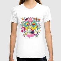 yetiland T-shirts featuring celebración by ALVAREZ