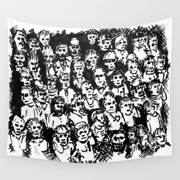 Rush Hour Wall Tapestry