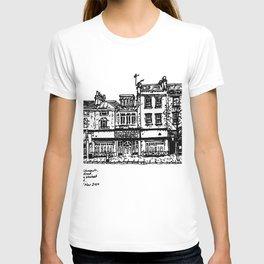 Three Establishments, Whiteladies Road, Bristol. T-shirt