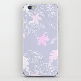 Silver Linings Pinks & Purple iPhone Skin