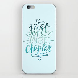 Book Worm One More Chapter iPhone Skin