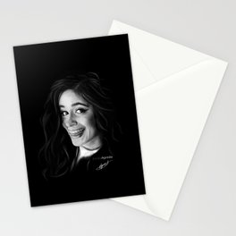 Camila Cabello Digital Painting #1 Stationery Cards