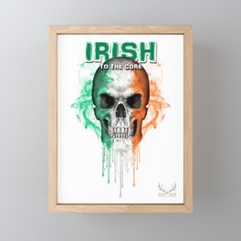 To The Core Collection: Ireland Framed Mini Art Print