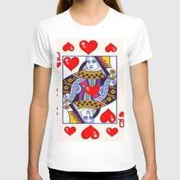 RED QUEEN OF ALL MY HEARTS T-shirt
