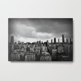 Kowloon Metal Print