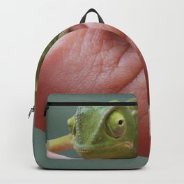 Chameleon cuteness personified Backpack