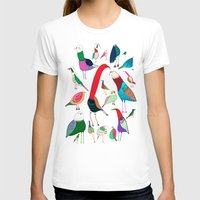 birds T-shirts featuring  Birds by Ashley Percival illustration