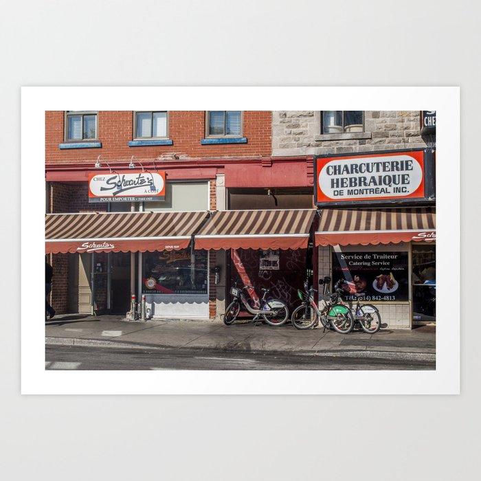 Schwartz's Smoked Meats Art Print