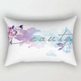 Floral Beauty Rectangular Pillow
