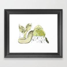 Mermaid Framed Art Print