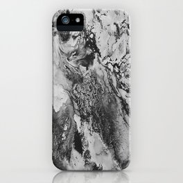 White: Paint iPhone Case