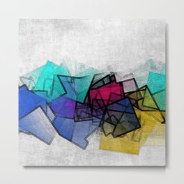 the puzzled horizon Metal Print