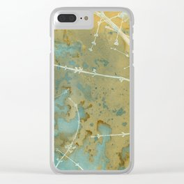Geography Clear iPhone Case