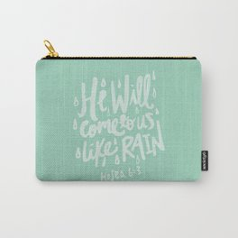 Hosea 6: 3 x Mint Carry-All Pouch