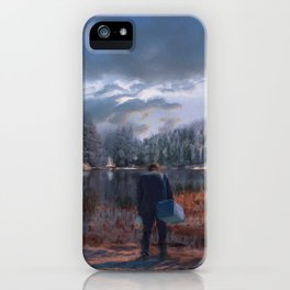 The coming of the dawn iPhone Case