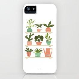 Plant Shelves iPhone Case