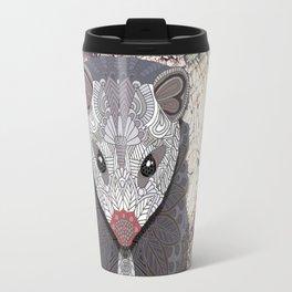 Ornate Opossum Travel Mug