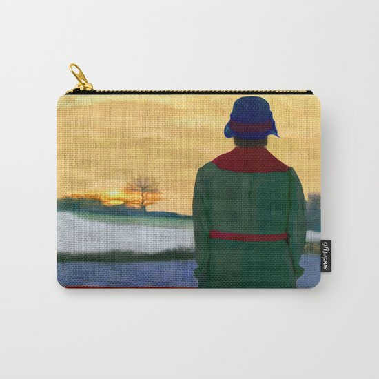 Can Spring be far behind? Carry-All Pouch