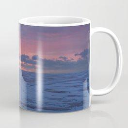 Winter Sunrise at Luna Pier Coffee Mug
