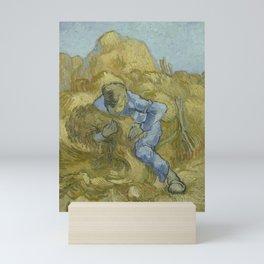 The Sheaf-Binder (after Millet) Mini Art Print